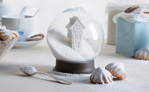We Designed A Snow Globe That Is Also A Sugar Bowl
