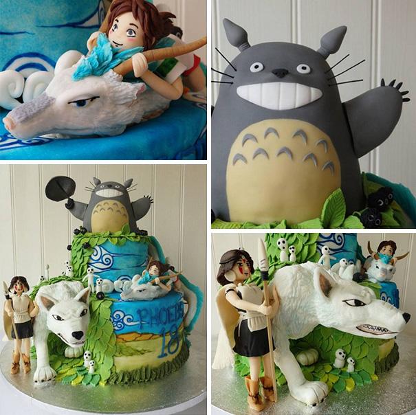 Vaporeon Cake