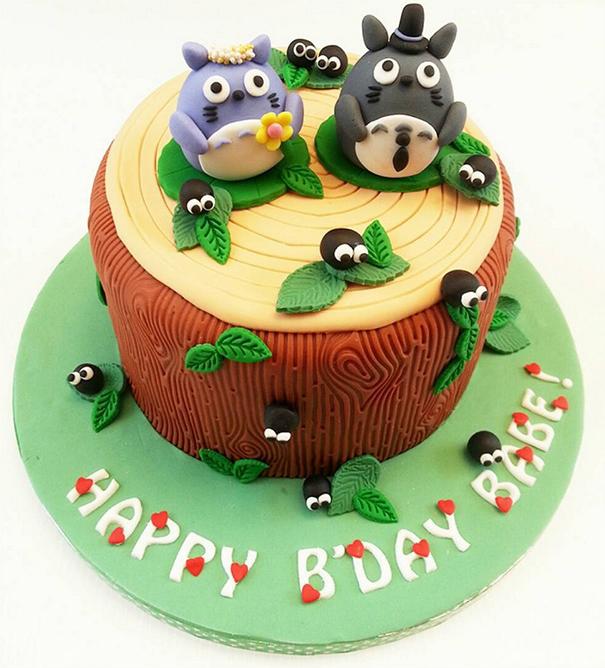 Totoro Cake