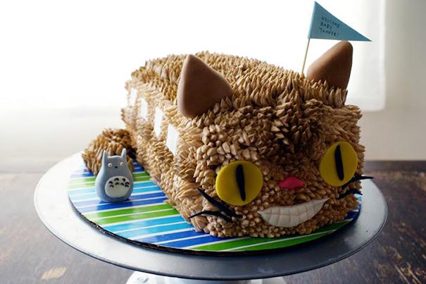 Cat Bus Cake