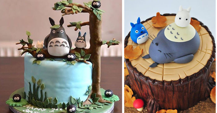 50 Totoro Cakes That Are Too Cute To Eat
