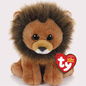 "Cecil The Lion Will Live Forever As ""Beanie Baby"" With 100% Of Profits Going To Wildlife Conservation"