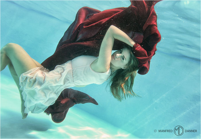 My Underwater Photoshoot In A Swimming Pool