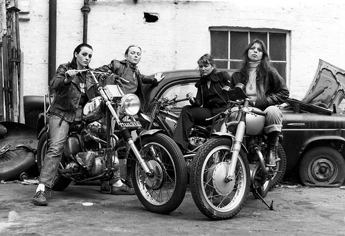 A Group Of Women Associated With The Hells Angels (1973