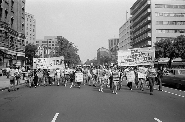 A Women's Liberation March In Washington, D.C. (1970)
