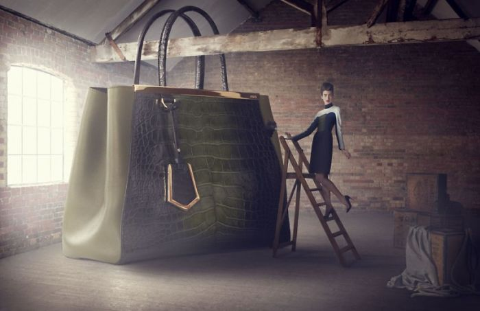 'the Big Bag Theory' Campaign By Lucia Giacani