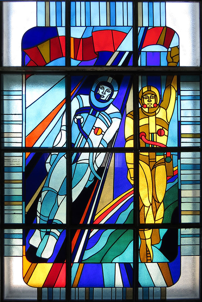 The Stained-glass Windows Of Chernobyl