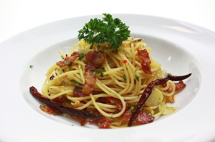 Although It's Known For Being A Popular Italian Food, Researchers Believe That Spaghetti Was Actually First Found In China And Was Brought To Italy By Marco Polo.
