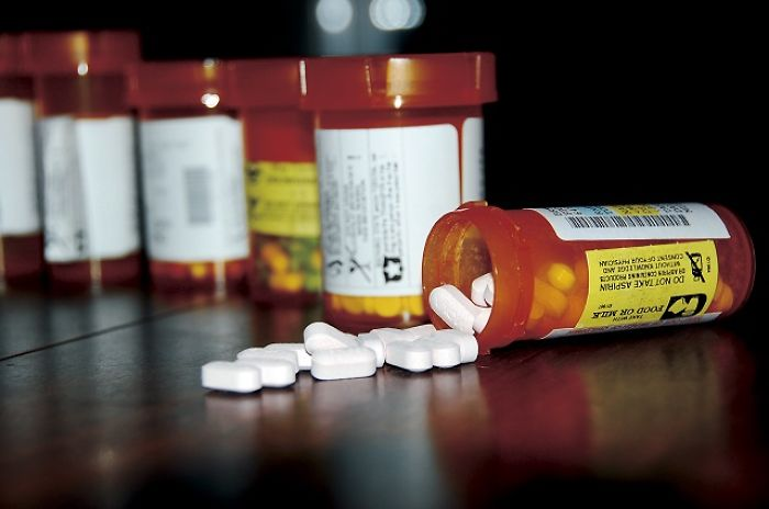 Prescription Pill Bottles Are Orange In Color To Filter Out Light That Can Break Down The Medication, While Remaining Light Enough For A Person To See The Contents Within.