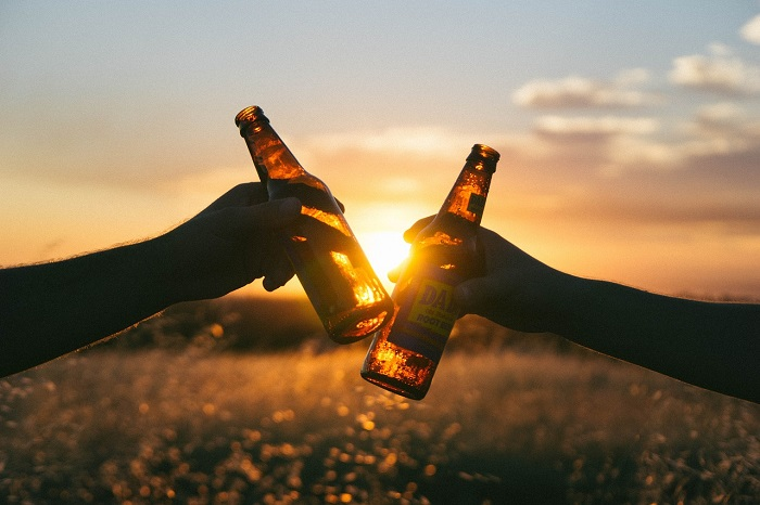 Beer Is Packaged In Amber-colored Bottles To Reduce The Amount Of Uv Light That Gets Into The Bottle, Which Can Lead To Spoilage.