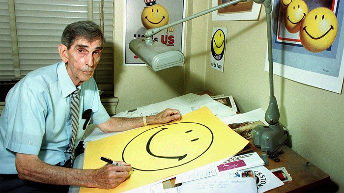 Commercial Artist Harvey Ball Was Hired In 1963 By State Mutual Life Assurance Company To Create A Happy Face That Would Life The Morale Of Workers. This Was How The Smiley Face Came About.