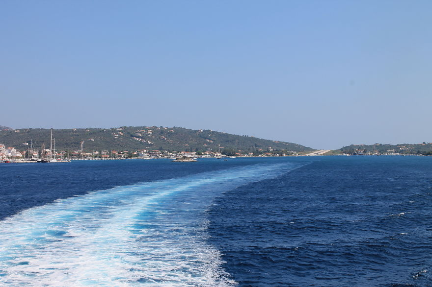 Ferry Apparently... Taking Off From Skiathos Airport