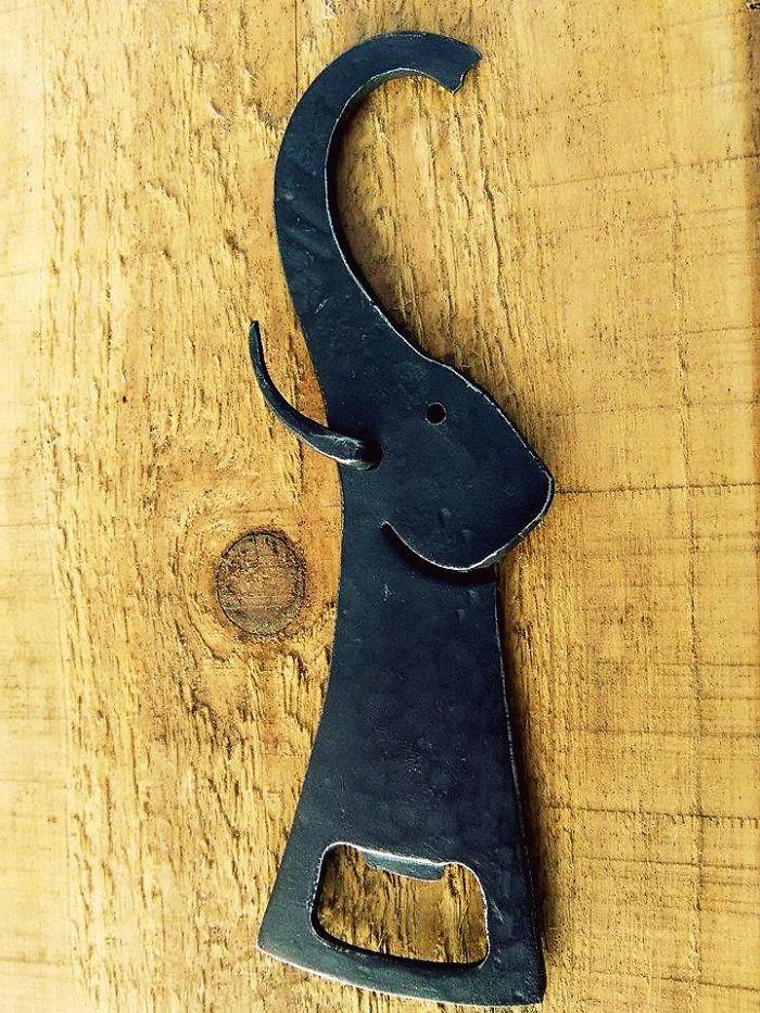 Elephant Bottle Opener (handmade)
