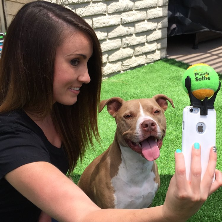 Perfect selfie with your dog