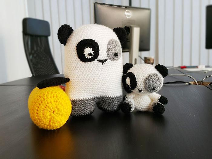 Bored Stuffed Pandas