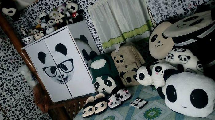 Cute Diy Panda Cabinet.
