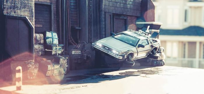 Amazing Back To The Future Miniature Dioramas