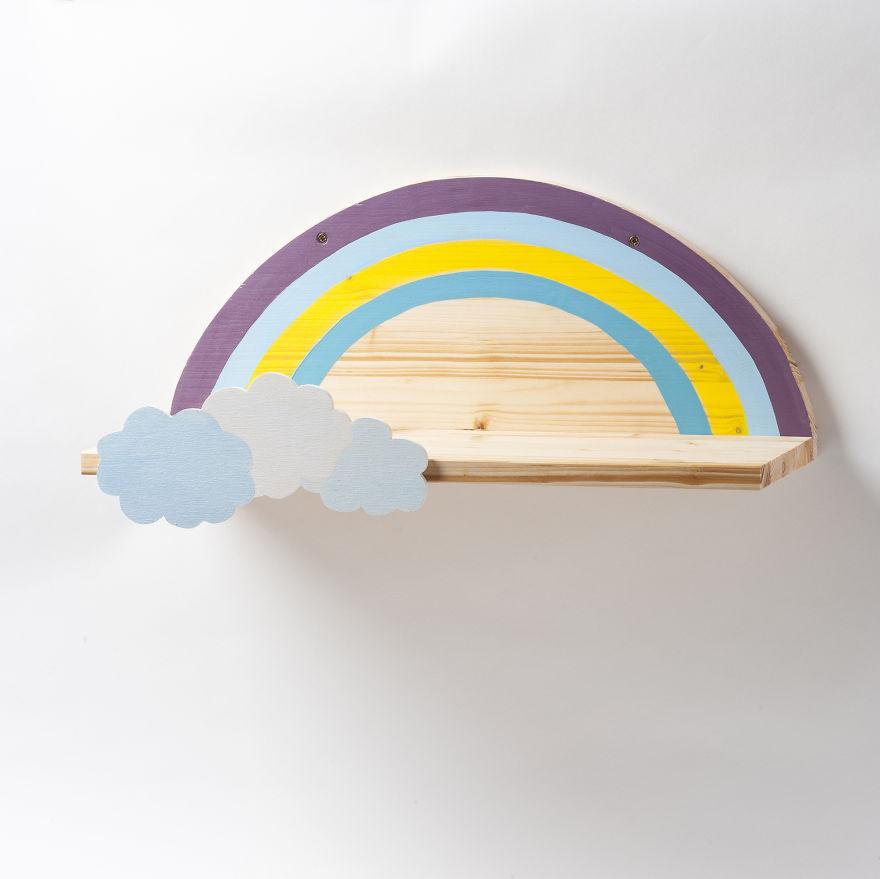 Rainbow Shelf Bored Panda