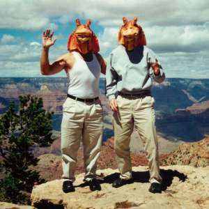 Jar Jar Binks And His Friends Travel Around The World