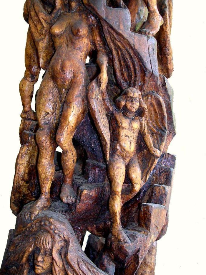 Bezalel Zuri (1909 – 1996 ) – Statues Of Bible Stories