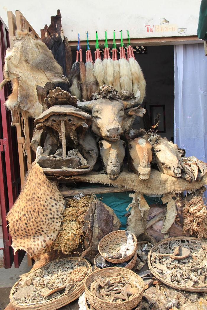 I Visited The Voodoo Market In Benin.