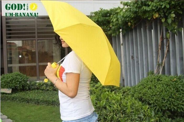 Fashion Banana Umbrellas