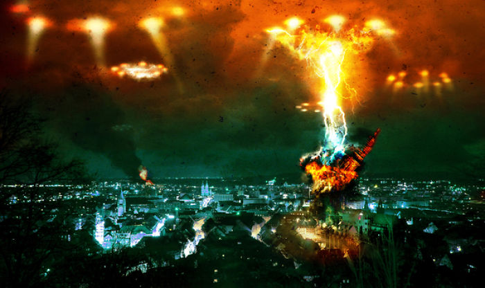 The End Of The World Shown In Frightening Photo Manipulations By Steve McGhee