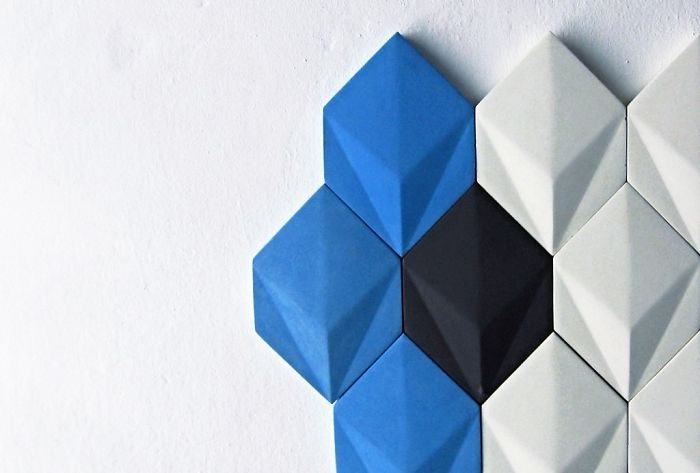Durable 3d Tiles Made Out Of Concrete