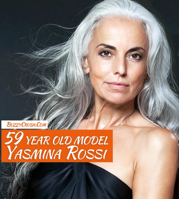 59 Year Old Model Yasmina Rossi