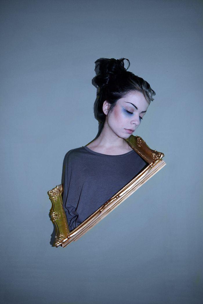 I Make Surreal Self-portraits To Entertain Myself