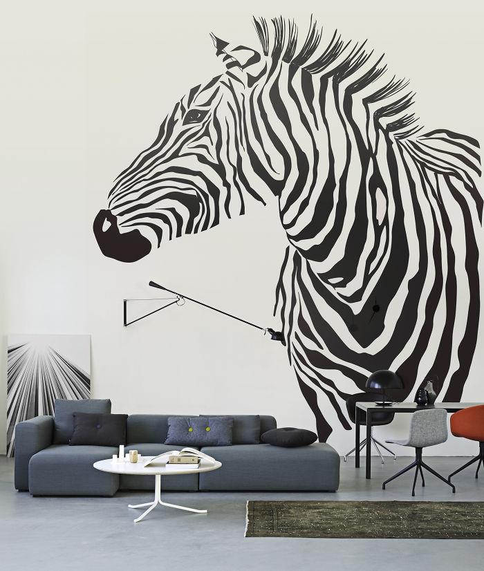 Cool Zebra Decal