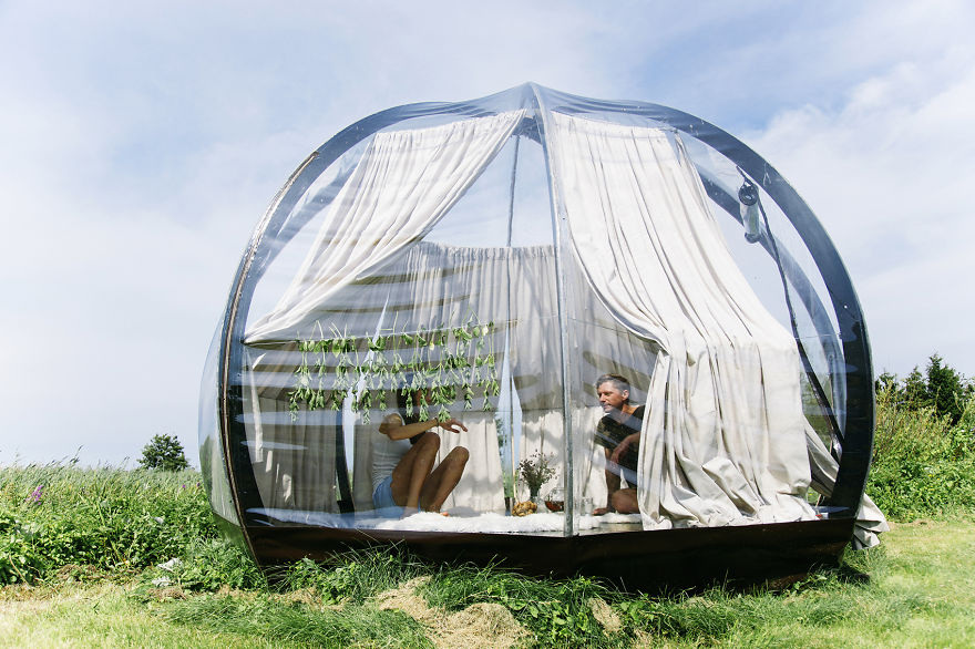 Transparent Dome Tent Lets You Sleep Under The Stars