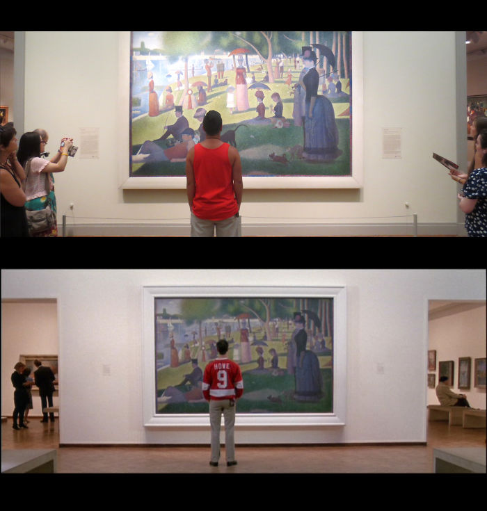Three Friends Took A Trip To Chicago And Recreated Scenes From Ferris Bueller's Day Off.