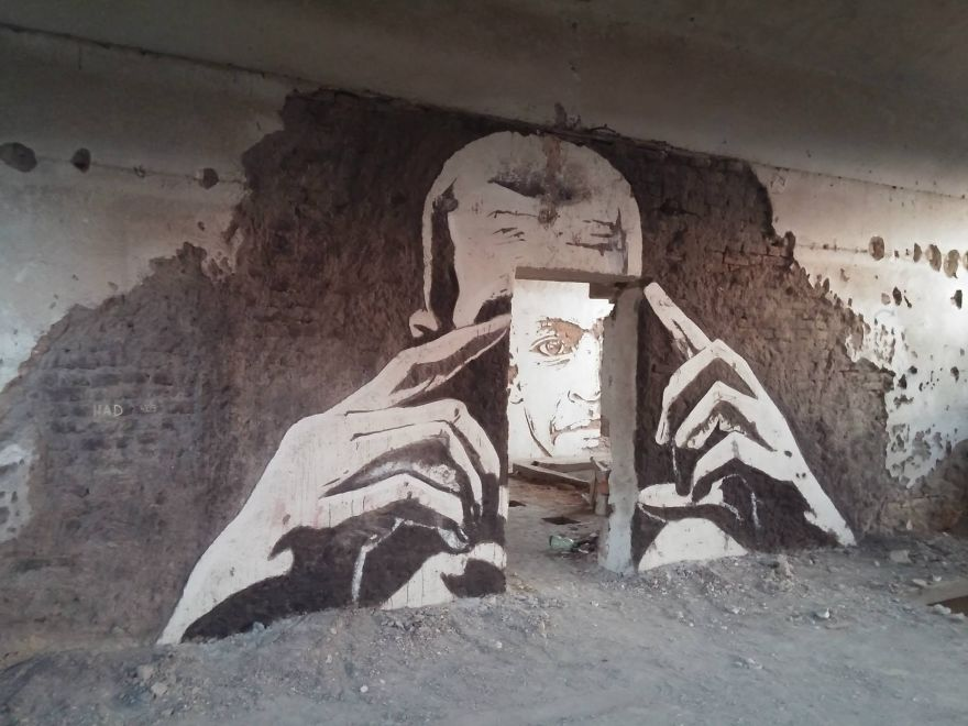 Street Artists Transformed This Abandoned Factory Into An Art Gallery