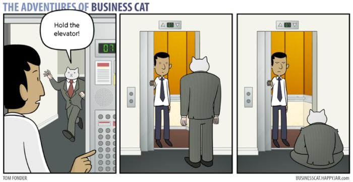 Business Cat Comics