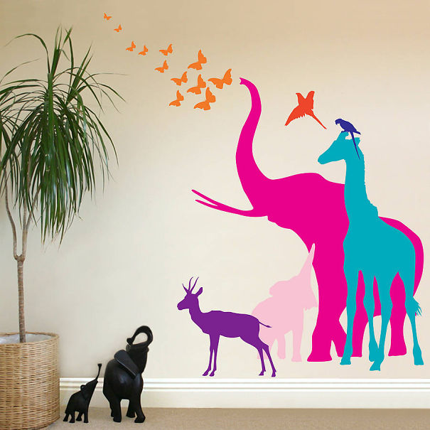 Rainbow Safari Animals