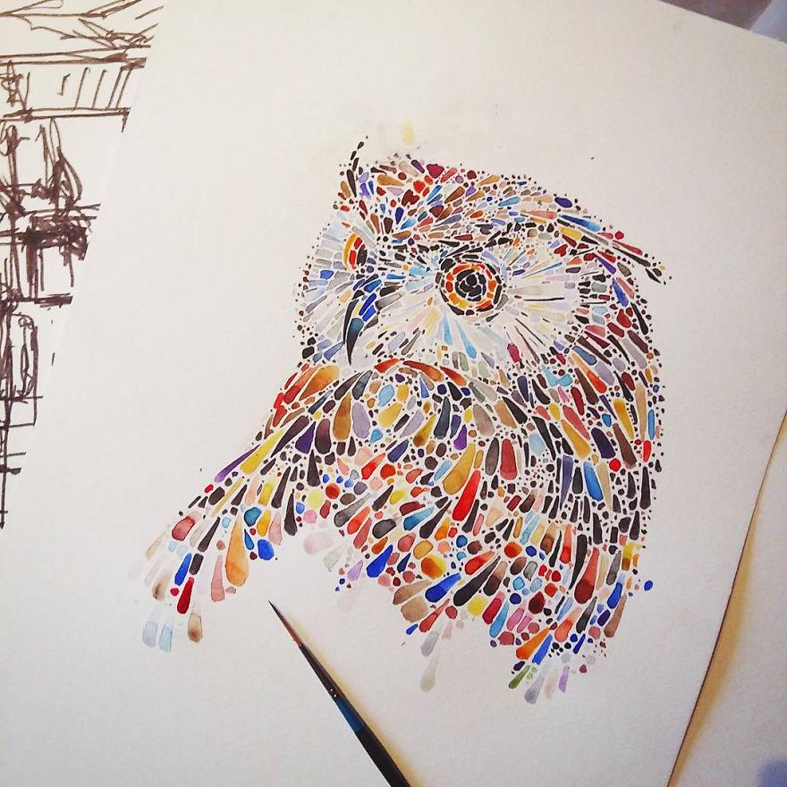 haughty owl