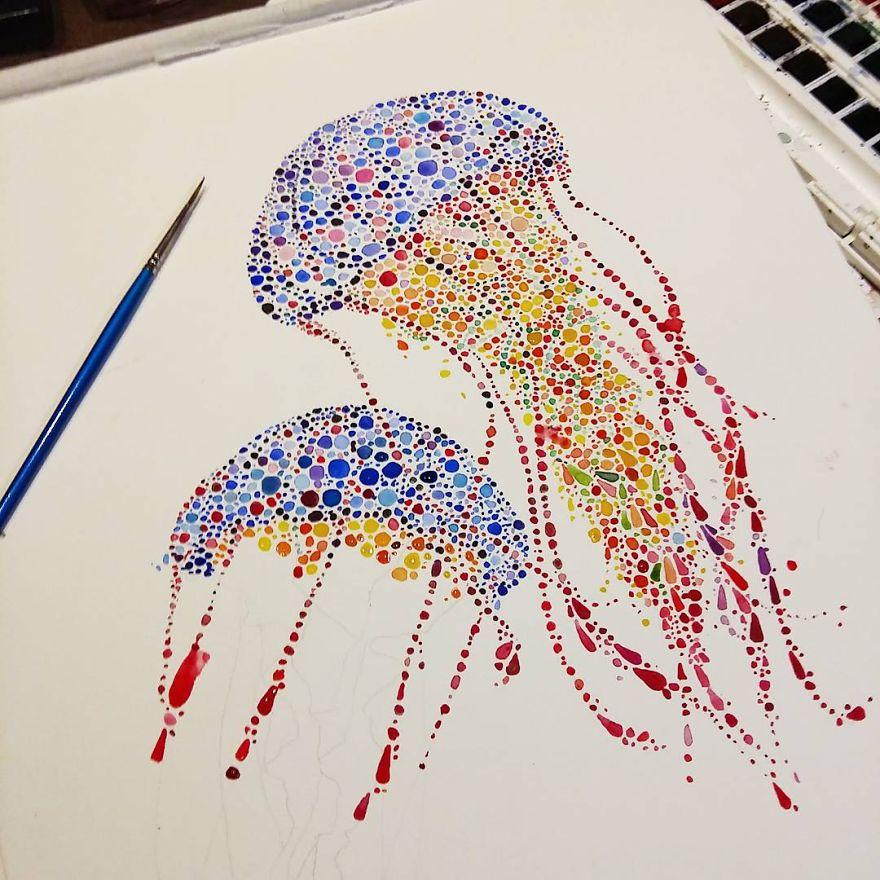 dancing jellyfish