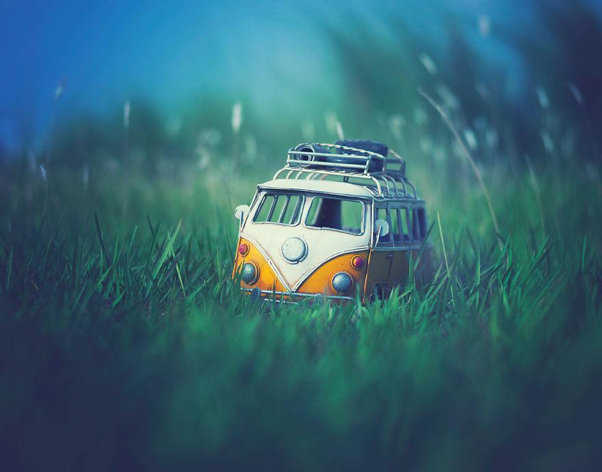 Авто миниатюры от фотохудожника из Бангладеш, фотопроекты, фотографы мира и их работы