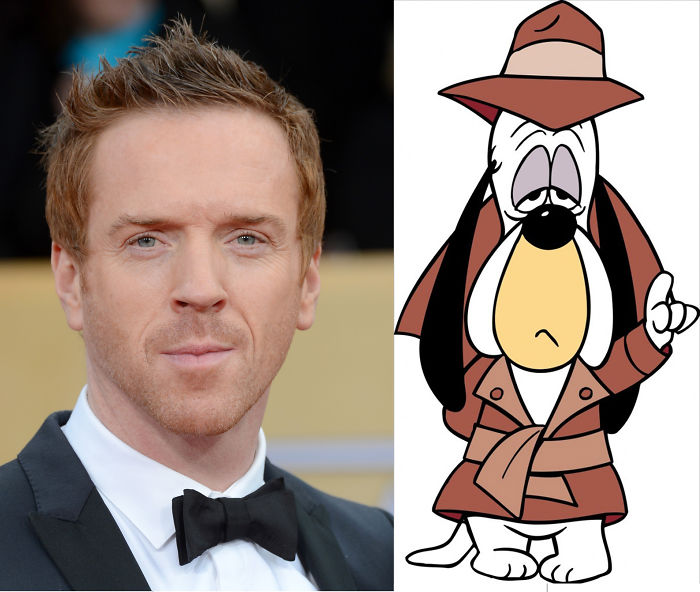 Damian Lewis Looks Like Droopy