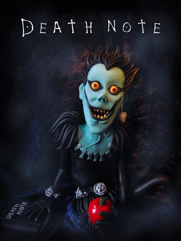 I Reimagined Horror Movie Posters With Polymer Clay