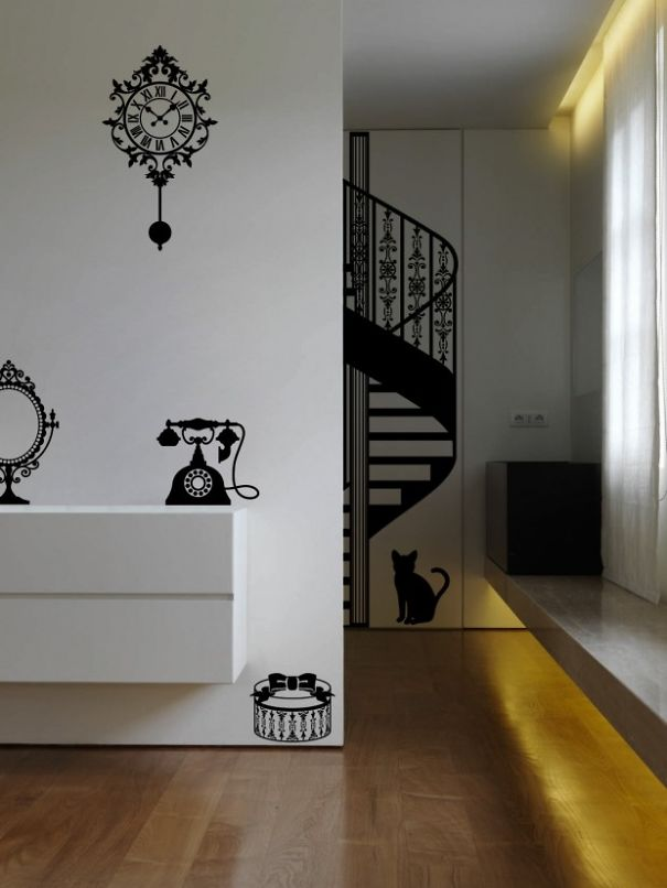 Silhouettes Of Ghost Furniture