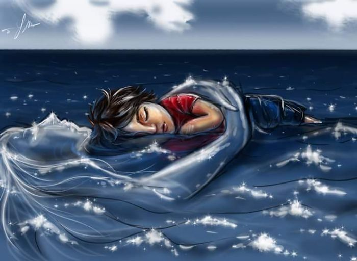 Sleep Deep In My Shoulders.. Here Is Your Safe Home..