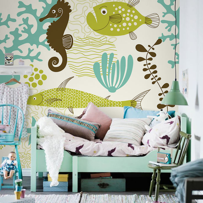 How To Make The Correct Choice Of A Wall Mural For Our Child's Room