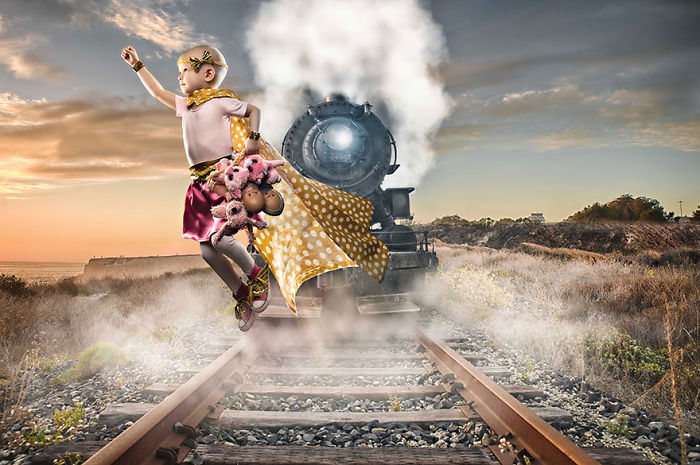 Children With Cancer Get To Live Their Dreams In Touching Photographs By Jonathan Diaz