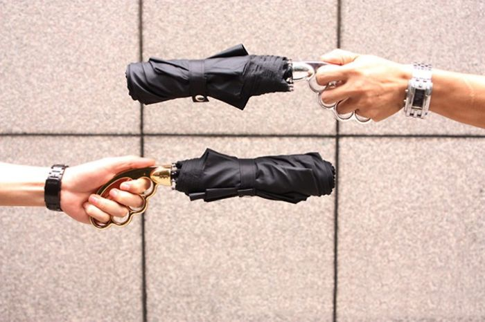 Fist 3 Folding Umbrella