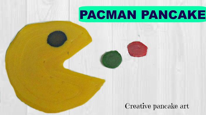 Creative Pancake Art- Pac-man Pancake