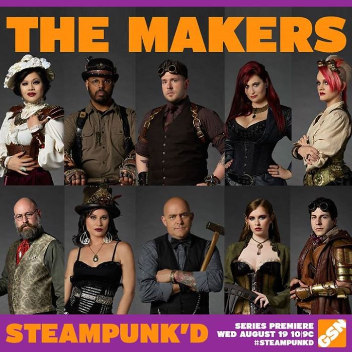 Gsn Brings The World Of Steampunk To New Original Skill-based Competition Series: 'steampunk'd'