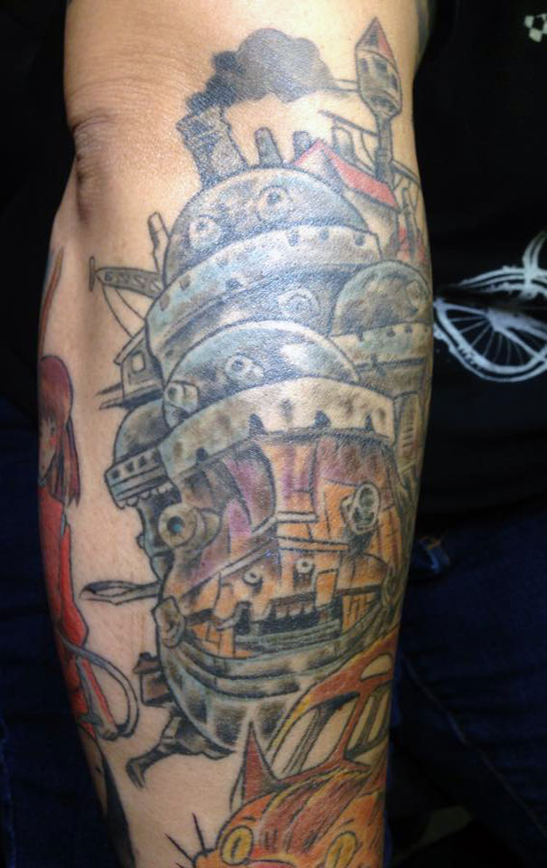 Howls Moving Castle Tattoo