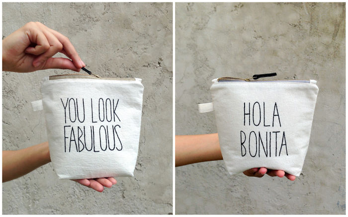 I Use Traditional Mexican Fabric & Hand Paint Fun, Personalized Gifts